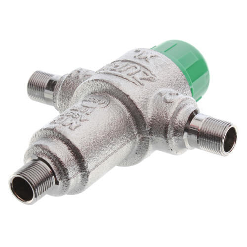 """3/8"""" Lead Free Thermostatic Mixing Valve 95 to 115°F (Compression) Product Image"""
