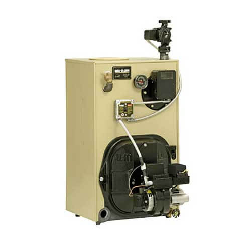 WTGO-5 152,000 BTU Output Gold Oil Boiler w/ Tankless Heater