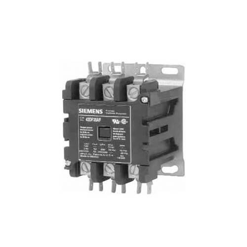 3 Pole, 25 Amp, 240V Contactor Product Image
