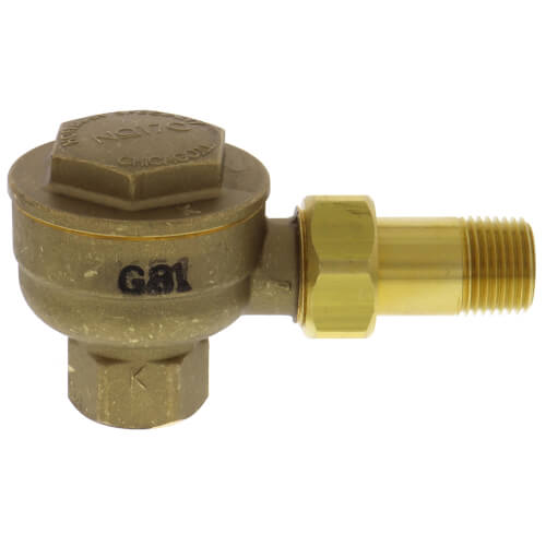 """17C-2, 1/2"""" Angle Thermostatic Trap Product Image"""