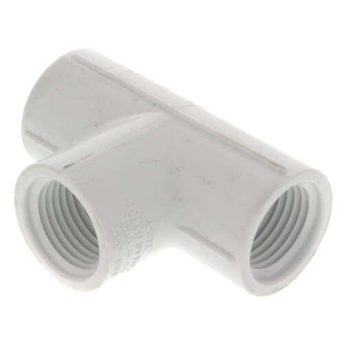"1/2"" PVC Sch. 40 Threaded Tee (FIPT)"