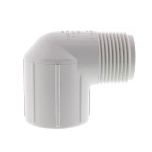 "1"" PVC Sch. 40 90° Street Elbow (Male x Fem) Product Image"