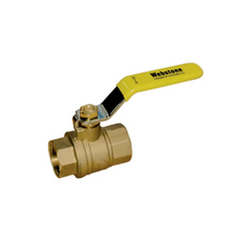 "1"" IPS Full Port Forged Brass Ball Valve"