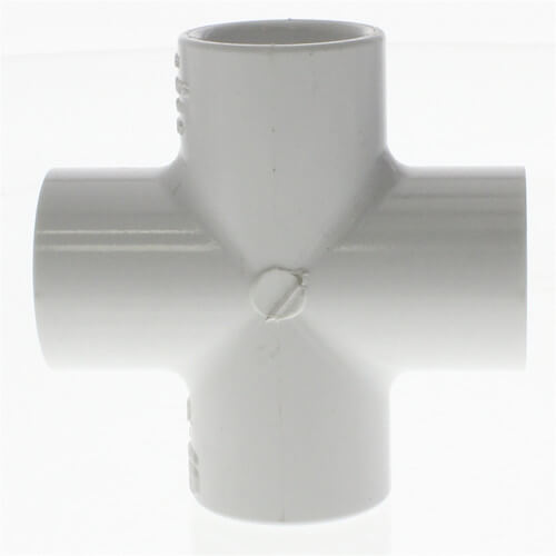 "1/2"" PVC Sch. 40 Cross Product Image"