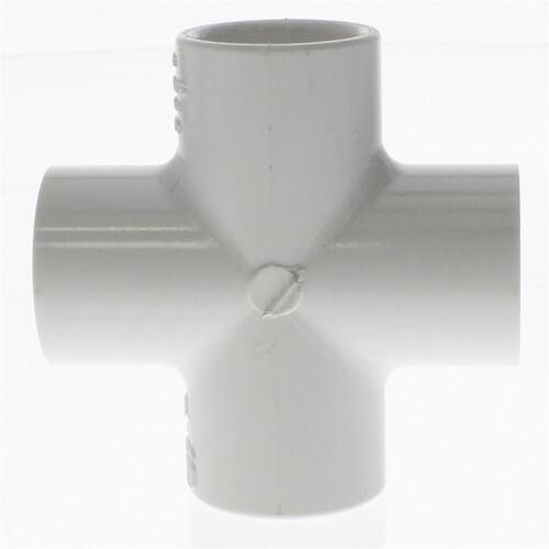 "1/2"" PVC Sch. 40 45° Elbow"