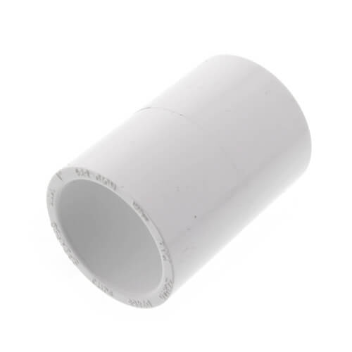 """1"""" PVC Schedule 40 Coupling (Nesting) Product Image"""