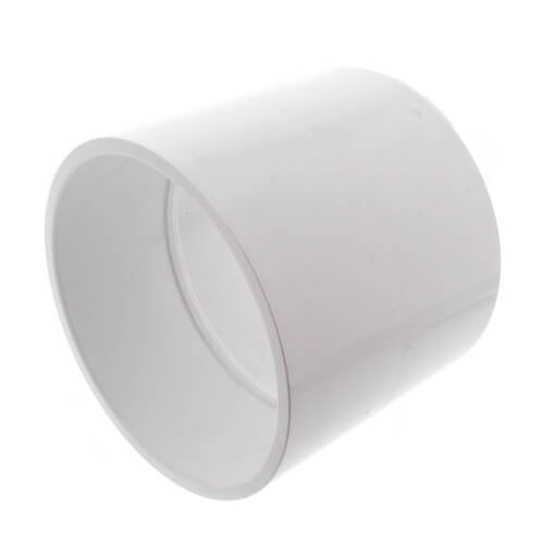 """4"""" PVC Schedule 40 Coupling Product Image"""