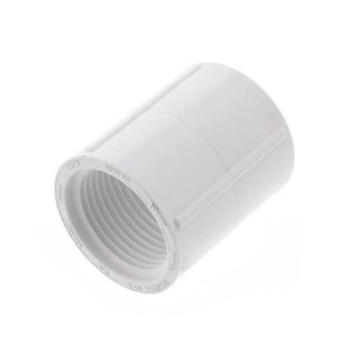 "3/4"" PVC Sch. 40 Coupling (FIPT) Product Image"