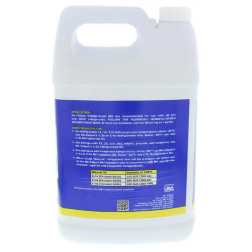 C-3s Refrigeration Oil, 1 Gallon