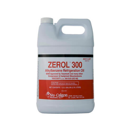 Zerol 300 Refrigeration Oil, 1 Gallon