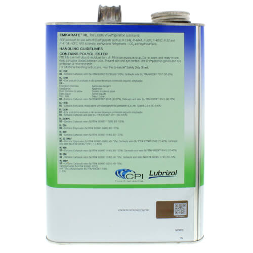 Emkarate RL32-3MAF Refrigeration Oil, 1 Gal.