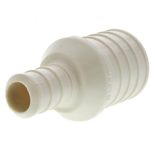 """3/8"""" PEX Crimp x 1/2"""" Lav Adapter (Plastic Nut)"""