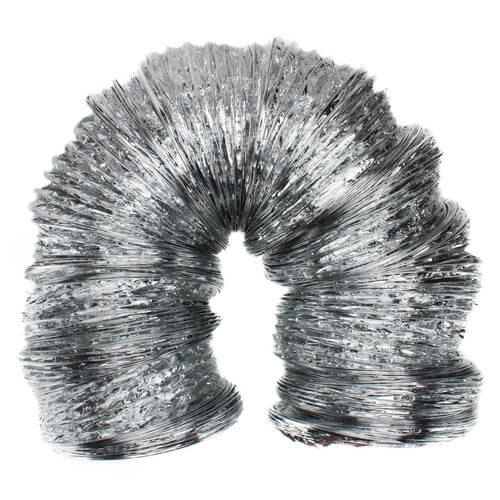 "8"" x 25' F090 Silver Air Connector"
