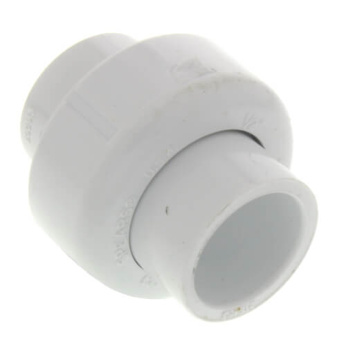 "1"" PVC Sch. 40 Socket Union w/ Buna-N O-ring"