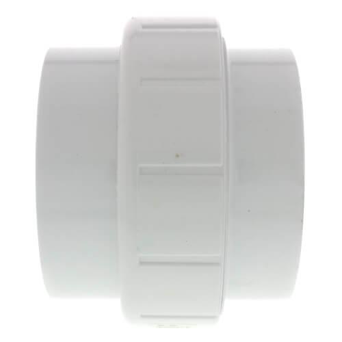 """4"""" PVC Sch. 40 Socket Union w/ Buna-N O-ring Product Image"""