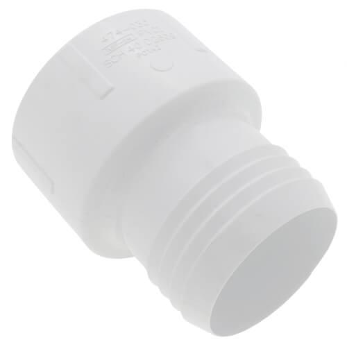 """3"""" PVC Sch. 40 Socket Union w/ Buna-N O-ring"""
