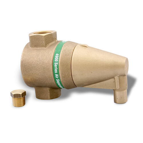 "1"" Bronze 4900 Series Air Separator"