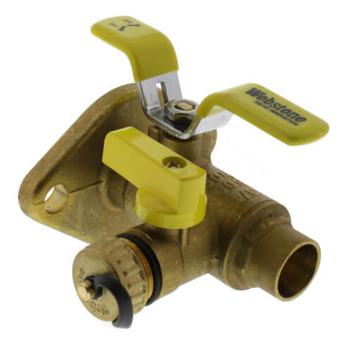 "3/4"" Full Port Sweat Ball Valve"