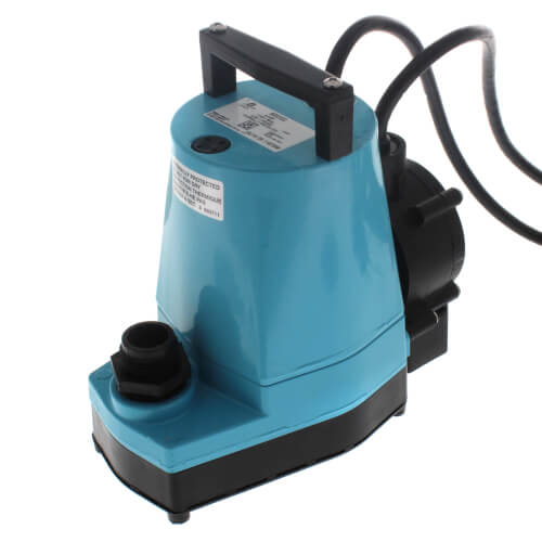 5-ASP 1/6 HP, 1200 GPH - Submersible Utility Pump w/ Piggyback Diaphragm Switch & 10 ft. Power Cord