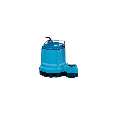 9E-CIM 4/10 HP, 57 GPM - Manual Submersible Sump Effluent Pump, 15ft power cord