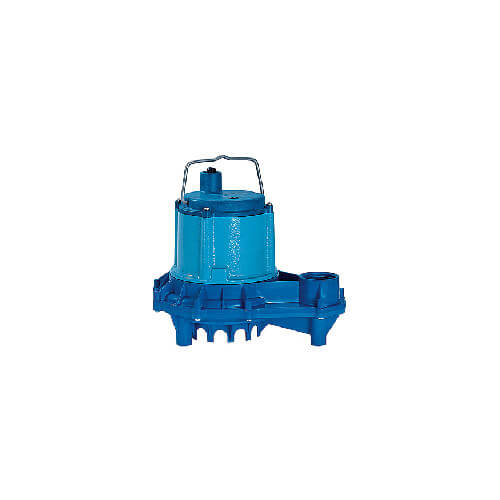 9EN-CIM 4/10 HP, 80 GPM - Manual Submersible Sump Effluent Pump, 20' power cord (208-230V)