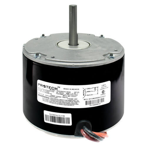 51 100999 04 5 rheem blower motors, rheem fan motors, blower motors supplyhouse com  at gsmportal.co