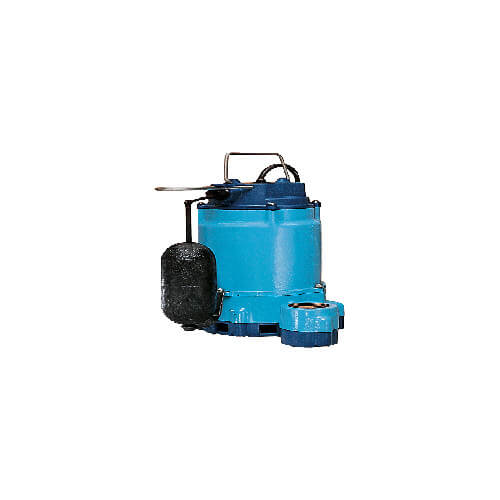 10EN-CIA-SFS 1/2 HP, 67 GPM - Submersible Sump Pump 10 ft. power cord