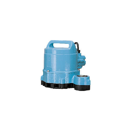 HT-10E-CIM 1/2 HP, 80 GPM - Manual Submersible Sump Effluent Pump, 15ft power cord