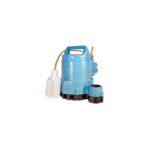 HT-10E-CIA-FS 80 GPM Submersible Sump Effluent Pump with Integral Float Switch - 15ft power cord