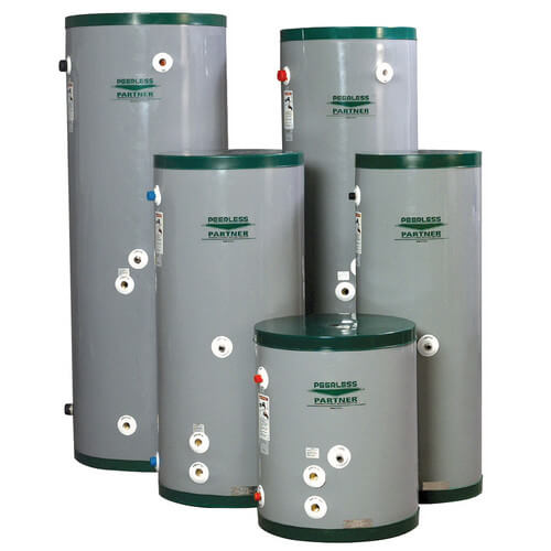 PT-120, 119 Gallon Peerless Partner Single Wall Indirect Water Heater