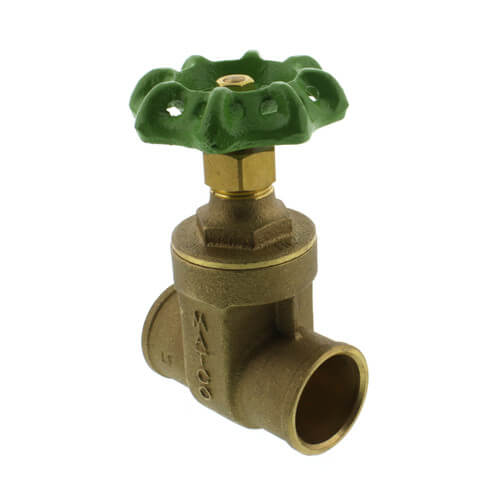 "1"" Solder Ends Gate Valve (Lead Free) Product Image"