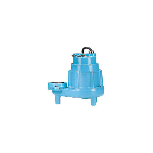 20E-CIM 2 HP, 135 GPM, 230V - Manual Submersible High Head Effluent Pump, 20ft power cord
