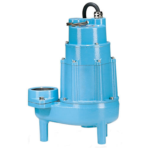 20E-CIM 2 HP, 135 GPM, 230V - Manual Submersible High Head Effluent Pump, 30' Power Cord