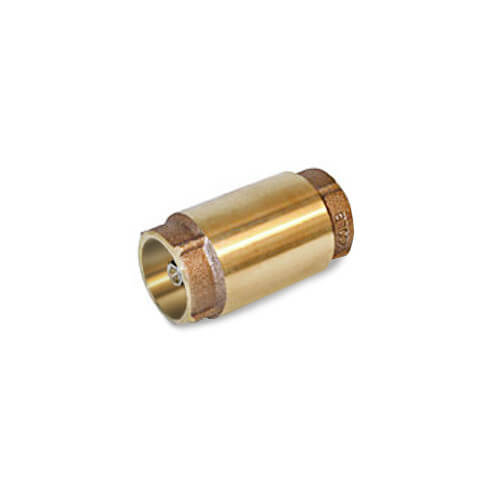 "1-1/2"" C x C Bronze In-Line Check Valve (Spring Loaded) Product Image"