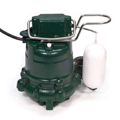 Model M53 Mighty-Mate Automatic Cast Iron Effluent Pump - 115 V, 0.3 HP