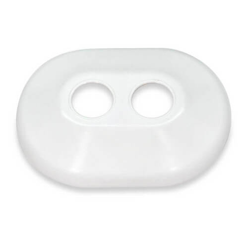 "1/2"" Double Plastic Escutcheon"