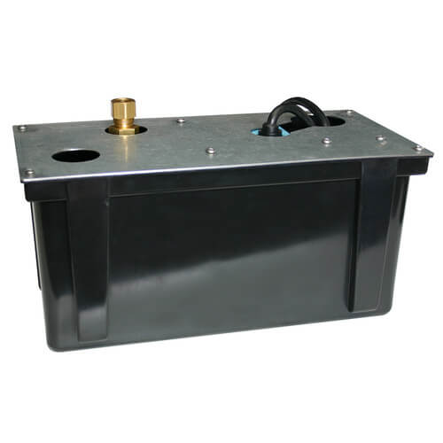 "3-ABS, 230 V, 1/2"" Discharge Shallow Pan Condensate Removal Pump Product Image"