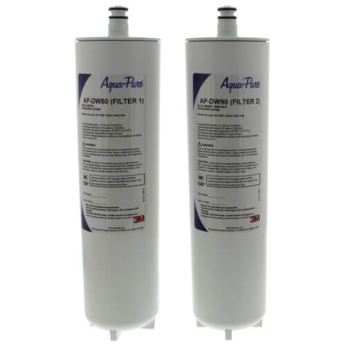 Aqua-Pure AP-DW80/90, Dual Stage Drinking Water Filtration System Replacement Cartridge