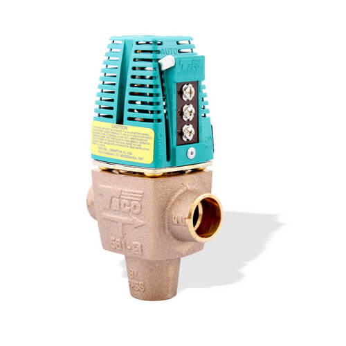 "1"" Sweat 3-Way Zone Valve"