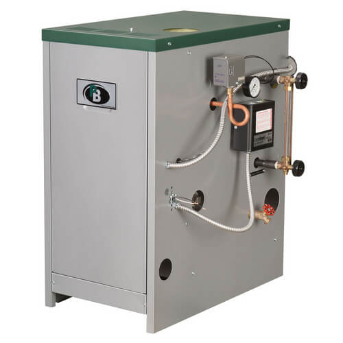 63-03 - 74,000 BTU Output Spark Ignition Packaged Residential Steam Boiler (LP Gas)