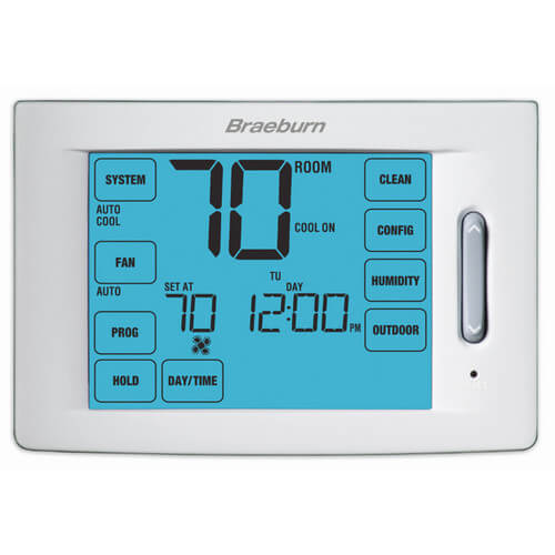 7-Day Programmable 120V Electric & Floor Heating Thermostat
