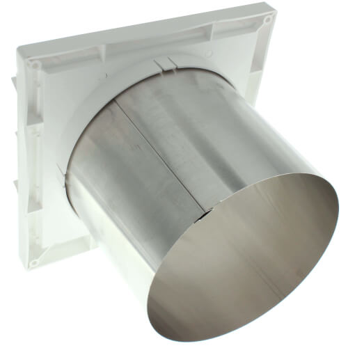 Broan quot round duct plastic louvered wall cap