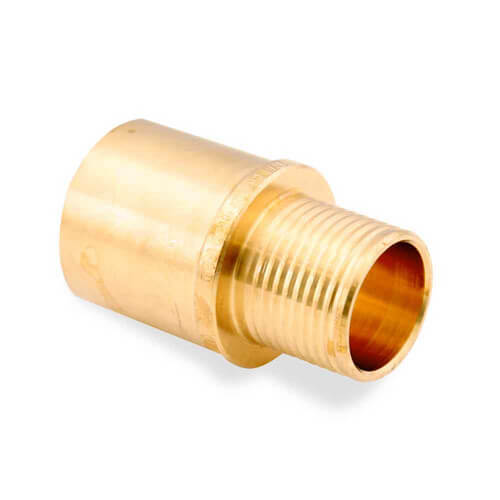 Viega  quot pex press copper fitting adapter