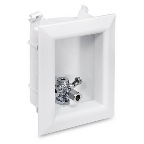 "Ox Box Toilet/Dishwasher Outlet Box Standard Pack - 1/2"" Male PEX Connection Product Image"