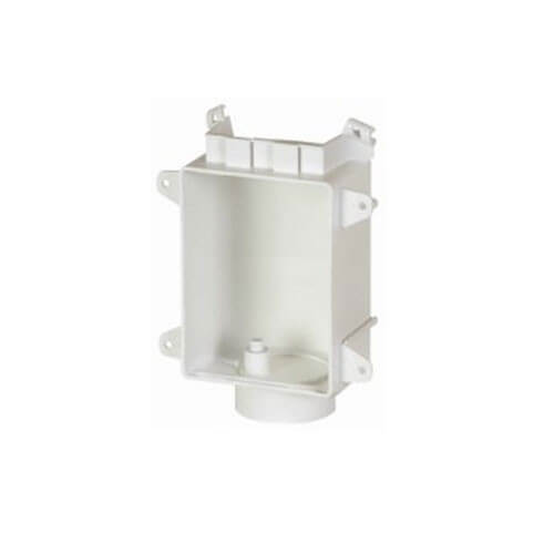 "Washing Machine Outlet Box, 1/2"" PEX Valve"