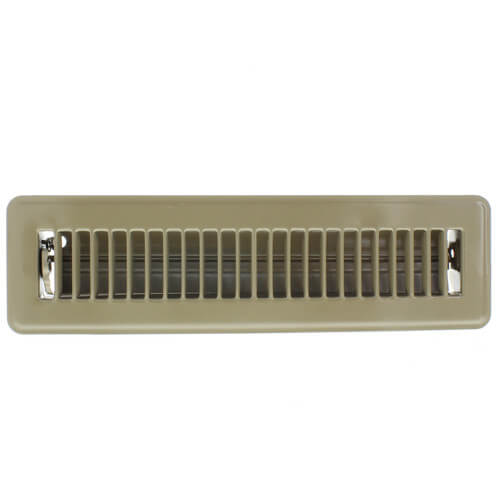 "2"" x 12"" Golden Sand Floor Register (421M Series) Product Image"