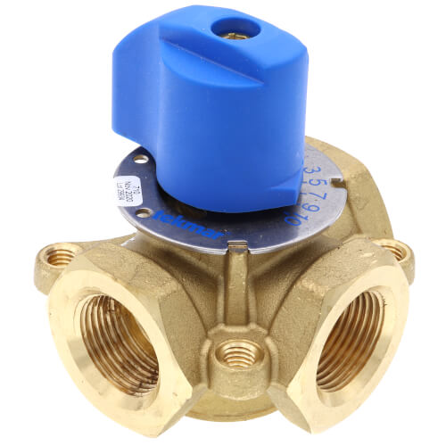 "3/4"" Brass 3-Way Mixing Valve"