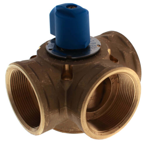 "2"" Brass 3-Way Mixing Valve"