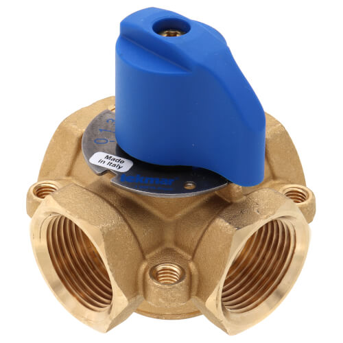 "1"" Brass 4-Way Mixing Valve"