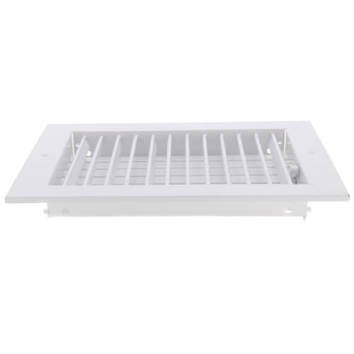 "10"" x 8"" White Commercial Supply Register (821 Series)"